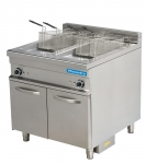 Masterfry Electric Double Basket Double Well Fryer