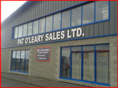 Pat O'Leary Salesfor all your Catering Equipment needs